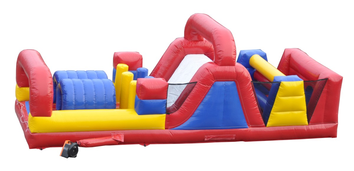 31′ Turbo Rush Dual Lane Obstacle Course