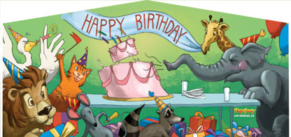 Birthday Bash Panel