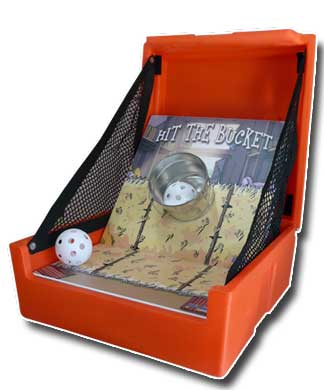 Bucket Toss Carnival Game