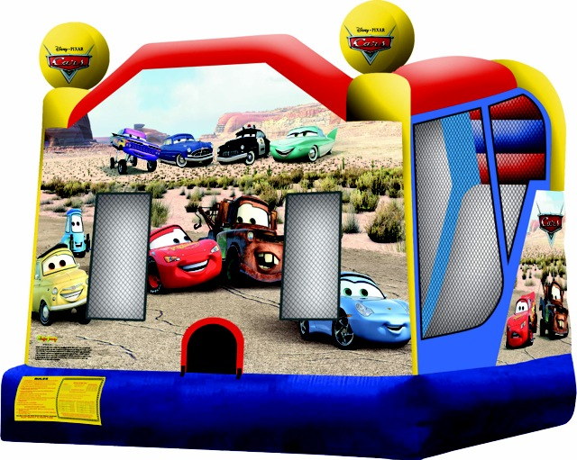 Disney Cars 4-in-1 Combo