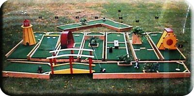 9 Hole Mini Putt Golf Course