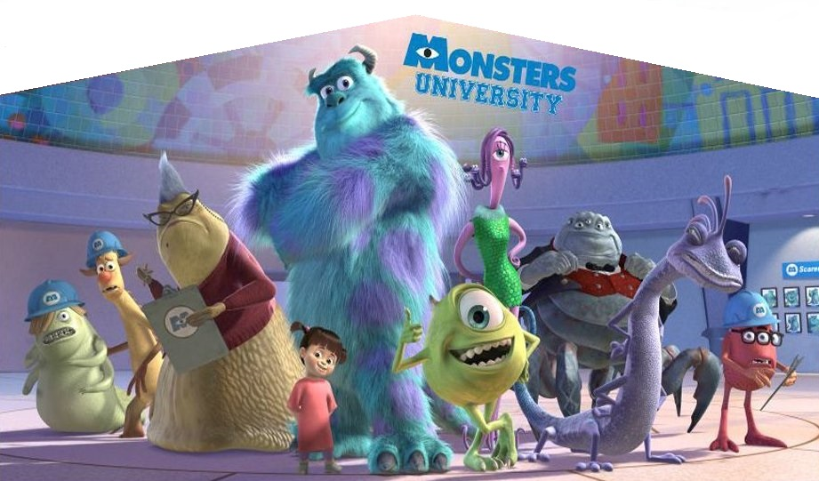 Monsters Inc Panel