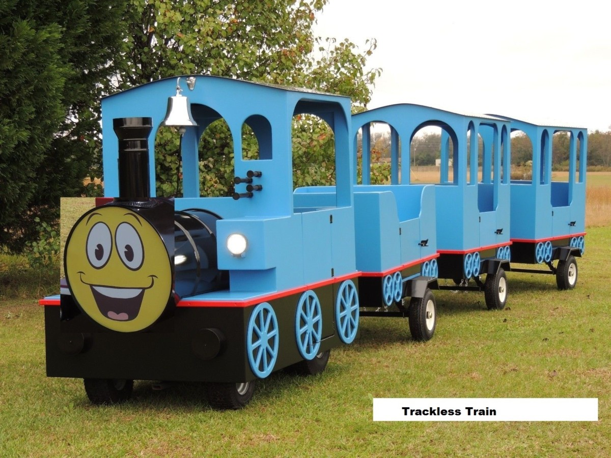 Fun Express Trackless Train