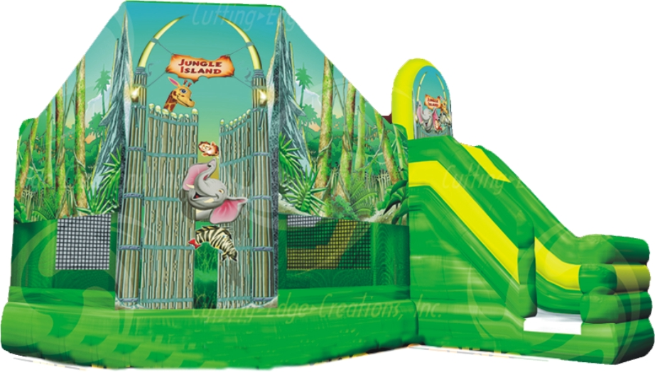 Jungle Bounce and Slide