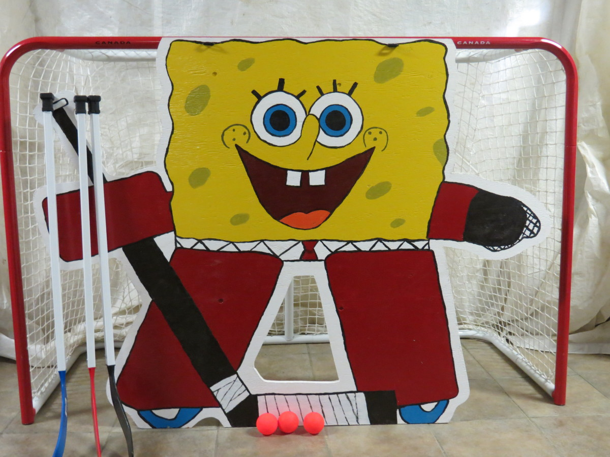 SpongeBob Goalie