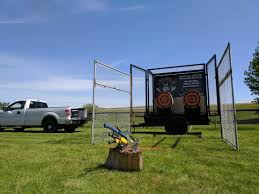 Mobile Axe Throwing Unit