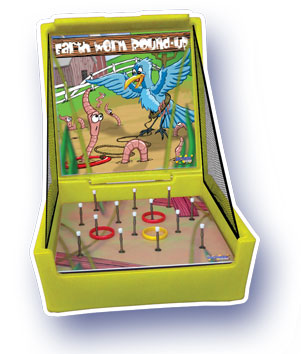 Wiggle Worm Ring Toss